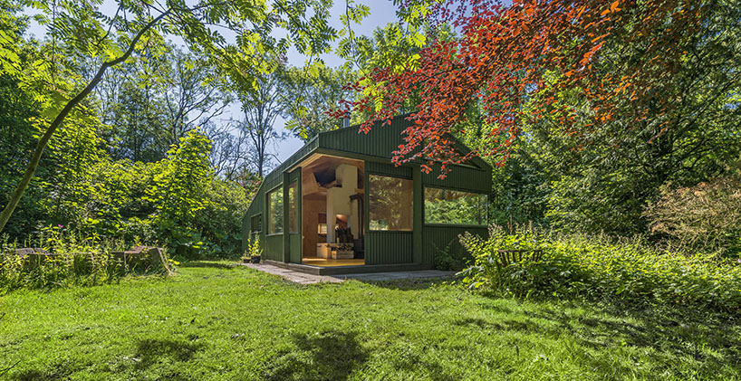 cc studio designed this hidden cabin in the park of amsterdam 2 CC Studio Designed This Hidden Cabin In The Noorderpark