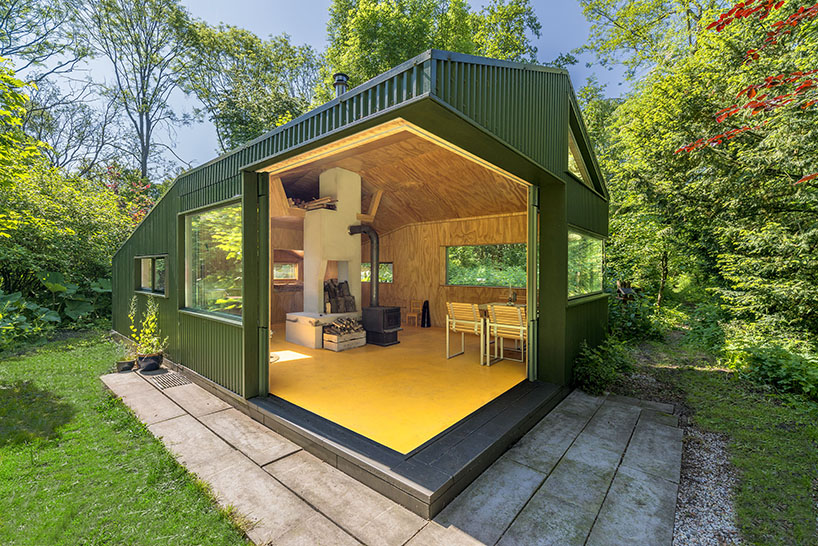 cc studio designed this hidden cabin in the park of amsterdam 3 CC Studio Designed This Hidden Cabin In The Noorderpark