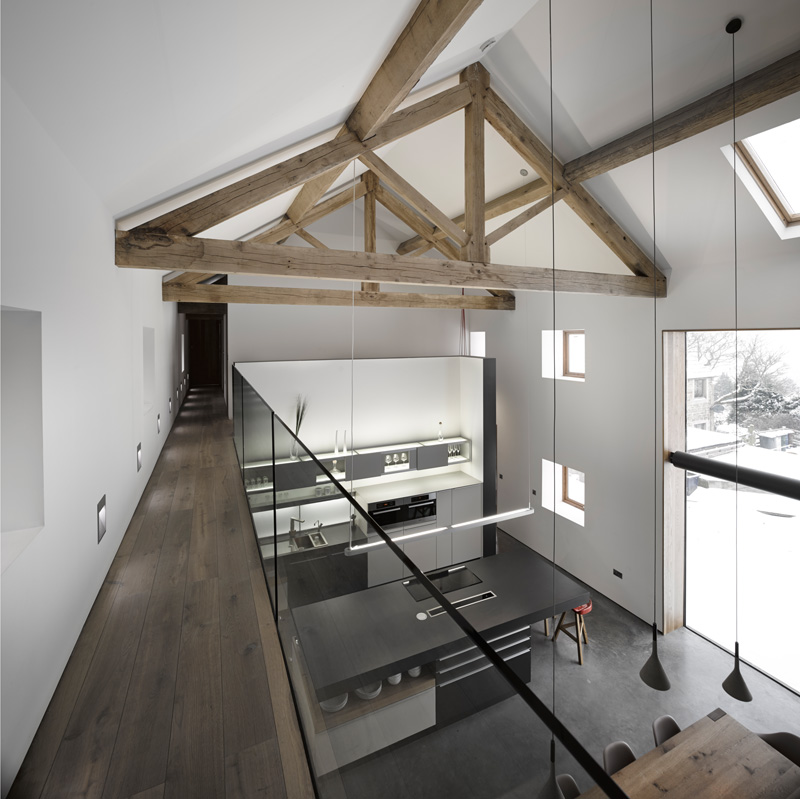 design rehabilitation 12 Barn Turned into Contemporary Home