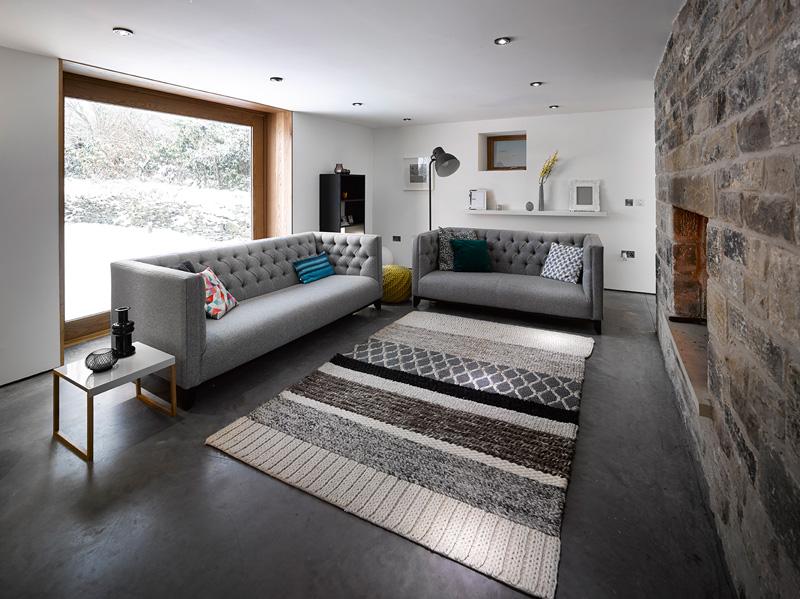 design rehabilitation 3 Barn Turned into Contemporary Home