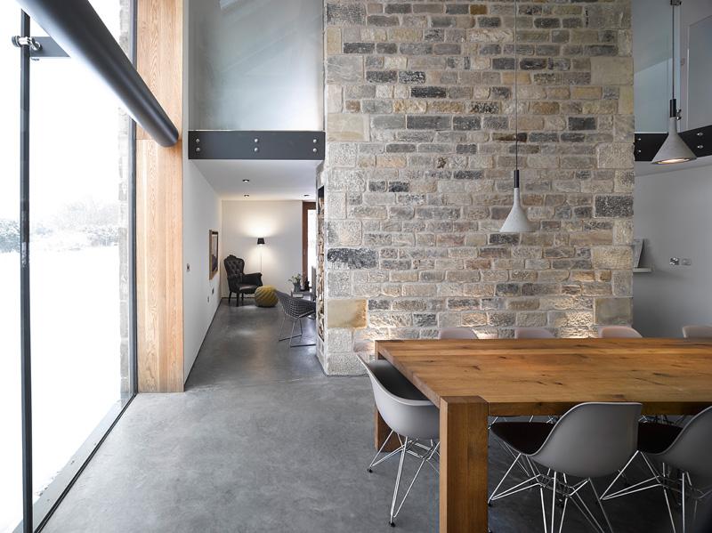 design rehabilitation 5 Barn Turned into Contemporary Home