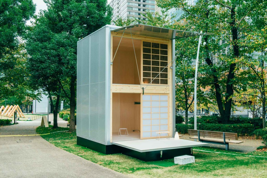 hut by konstantin grcic 1024x683 Sustainable Prefab Huts By Muji