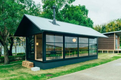 Sustainable Prefab Huts By Muji