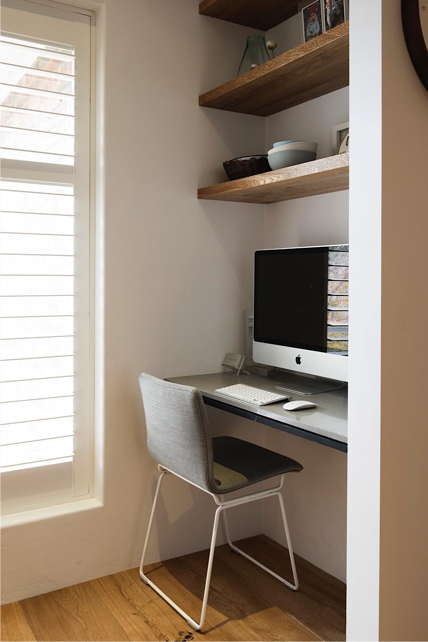 Small Corner Desk In Living Room