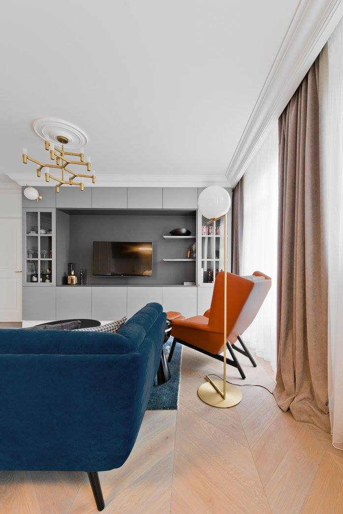 inarch11 Apartment in Vilnius by Indrė Sunklodienė