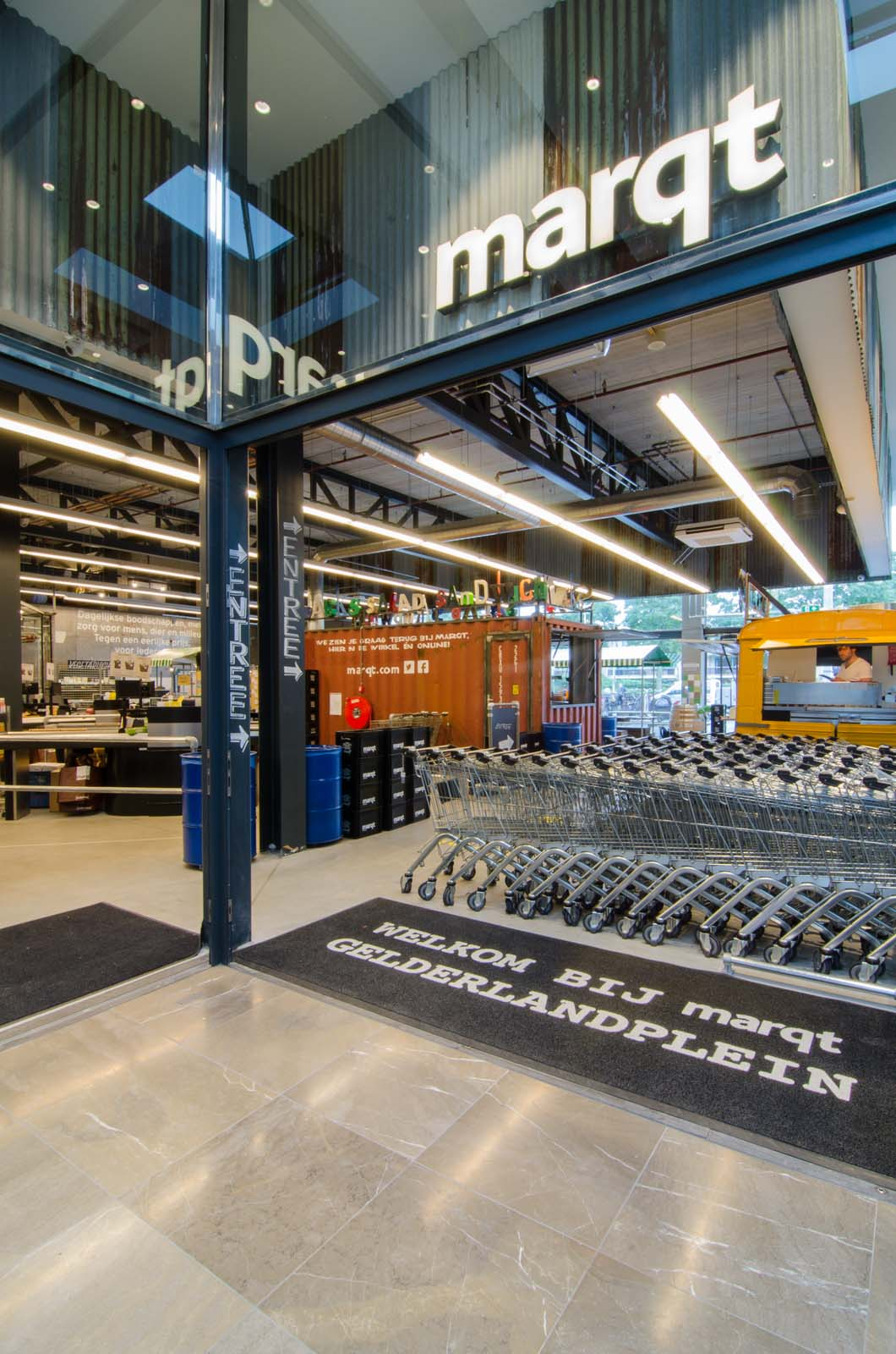 Marqt Supermarket In Amsterdam By Standard Studio Your