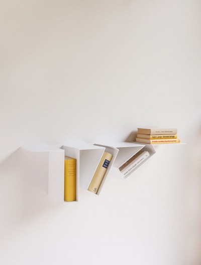 Oblique Bookshelf By Filip Janssens