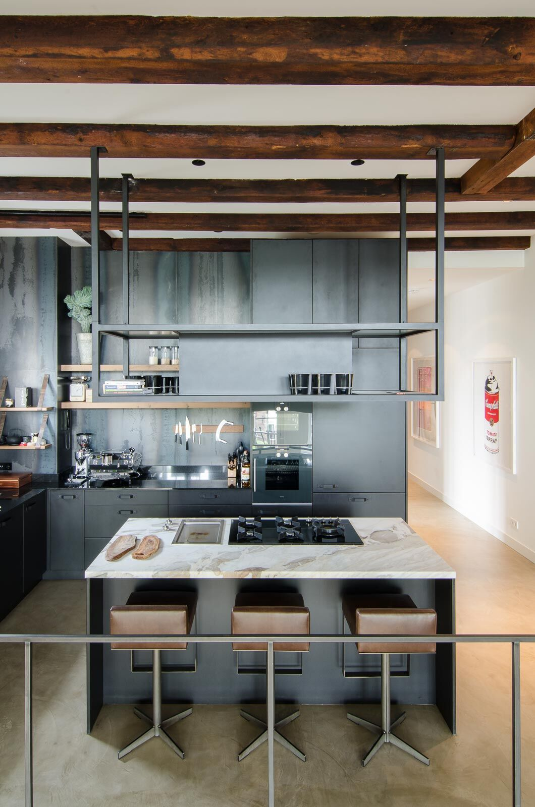 old sugar factory was converted into contemporary loft 4 Old Sugar Factory Was Converted Into Contemporary Loft