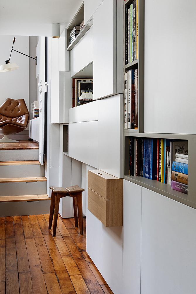 paris apartment2 Paris Apartment by Charlotte Vauvillier