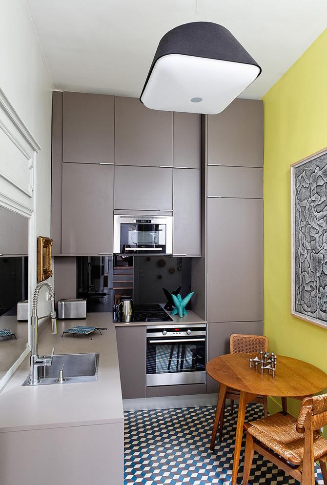 paris apartment6 Paris Apartment by Charlotte Vauvillier