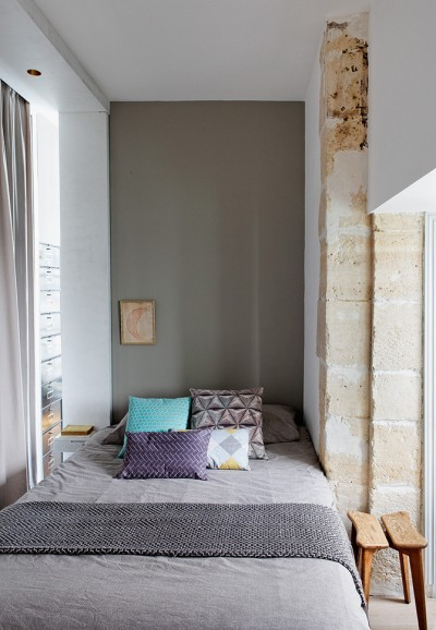 Paris Apartment by Charlotte Vauvillier