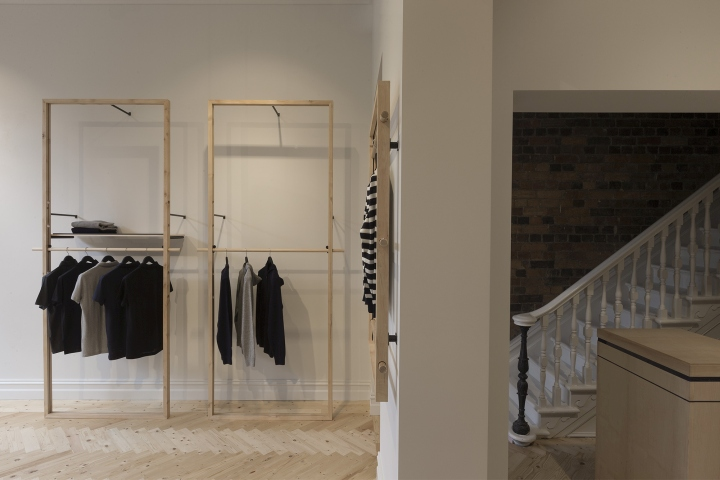 a former workers cottage was converted into a minimal store 3 A Former Workers Cottage Was Converted Into A Minimal Store