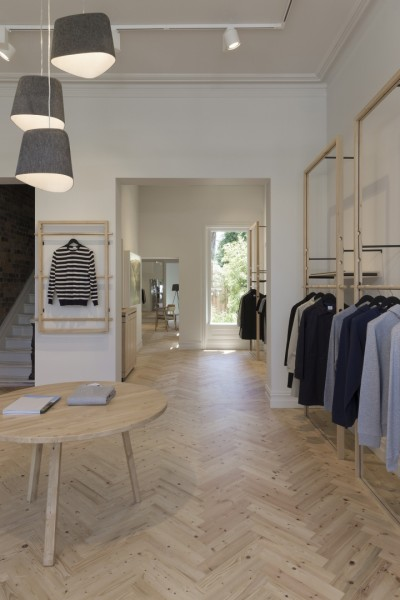 A Former Workers Cottage Was Converted Into A Minimal Store