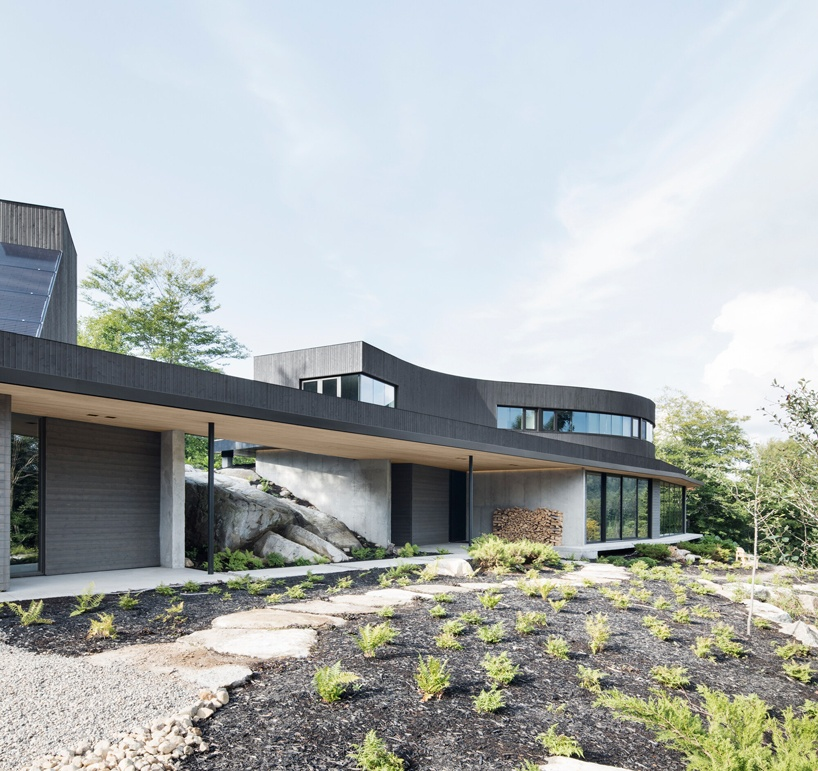 energy surplus is being generated in this sustainable home in quebec 4 Energy Surplus Is Being Generated In This Sustainable Home In Quebec