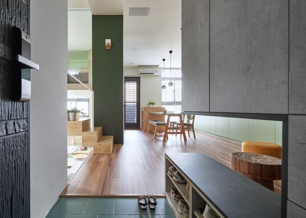 Hao Design Renovates A Compact Apartment In Kaohsiung Taiwan