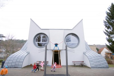 Die Katze Kindergarten in Germany