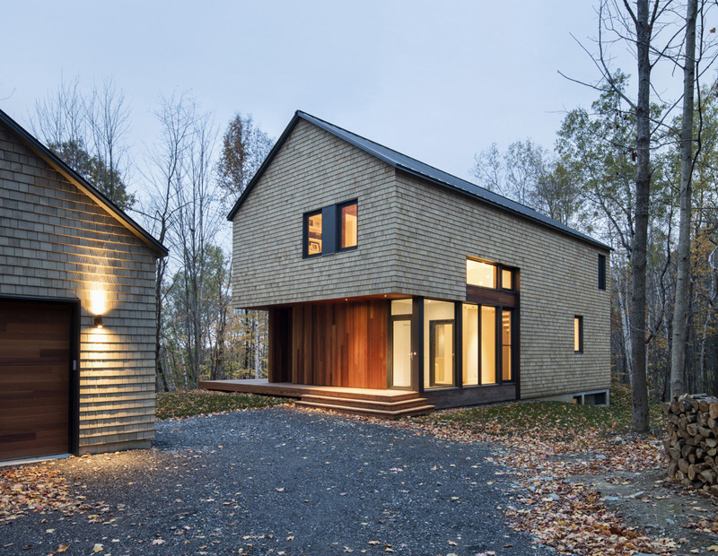 Dreamy House Surrounded By Woods In North Hatley, Canada