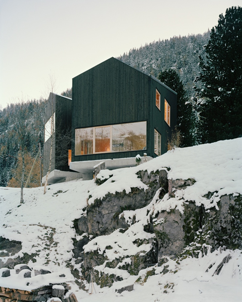 Minimal Cabin In Switzerland By Lacroix Chessex Architectes