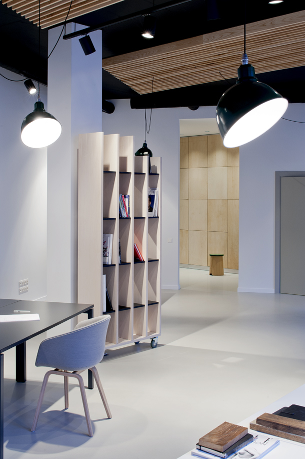 minimal office interior by mix match 11 Minimal Office Interior By Mix & Match