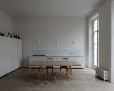 Piano Nobile Apartment Inspired By Vilhelm Hammershoi's Paintings