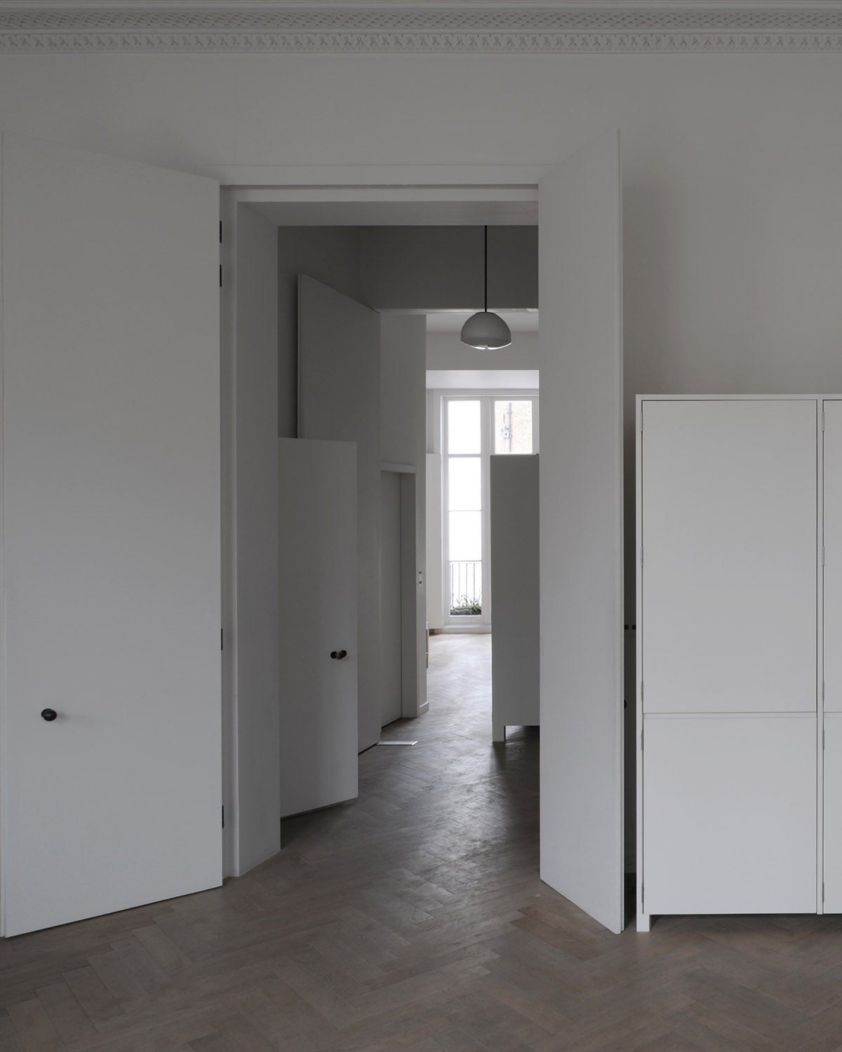 Piano Nobile Apartment Inspired By Vilhelm Hammershois