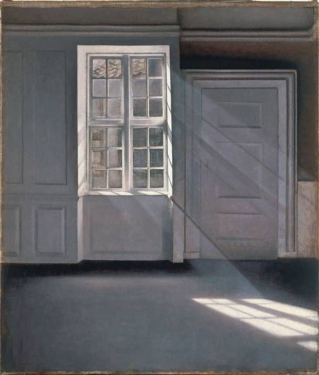 piano nobile apartment inspired by vilhelm hammershois paintings 9 Piano Nobile Apartment Inspired By Vilhelm Hammershois Paintings