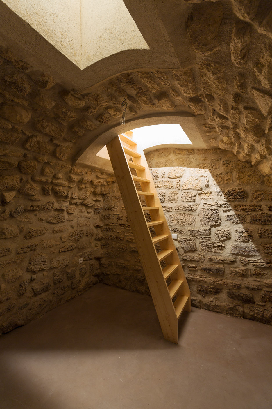 A Secret Basement Was Found During The Renovation Of This