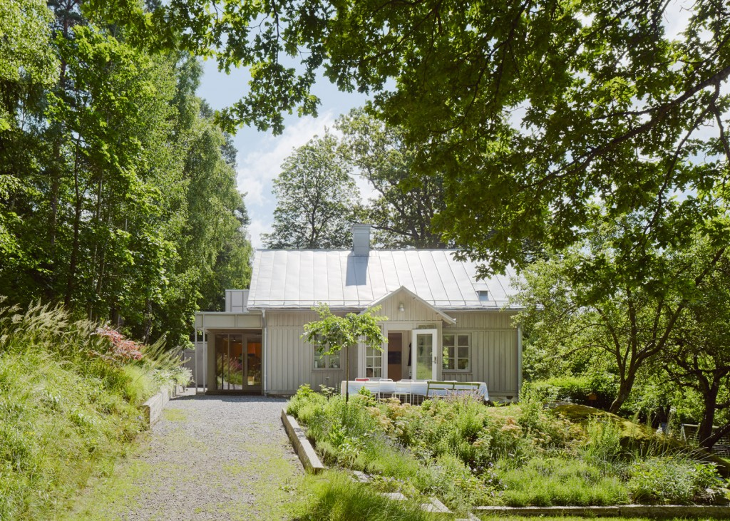 A Wooden Extension Was Built To The 19th Century Swedish Villa