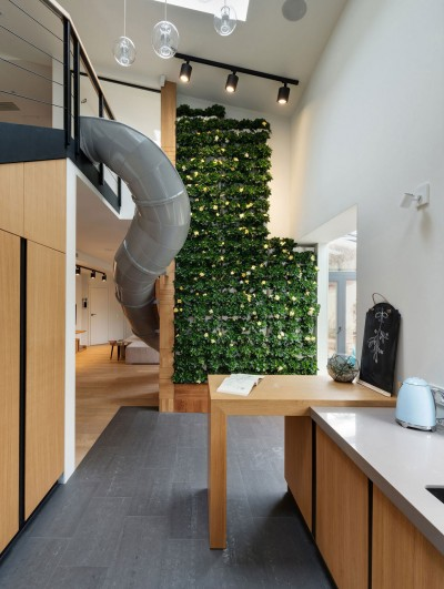 Childhood Dreams Come True – a Slide Was Installed in This Awesome Apartment