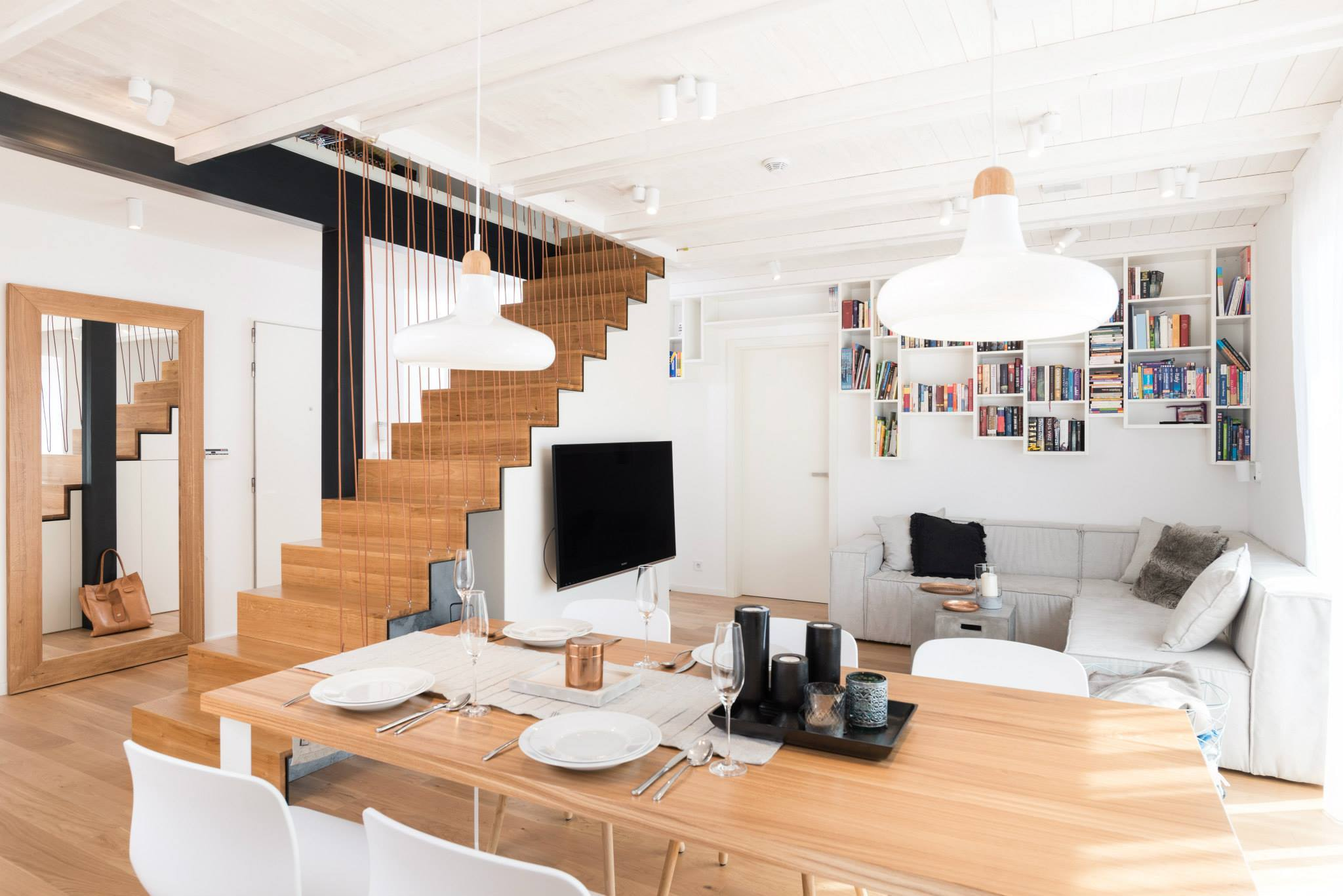 cozy apartment by oooox A Cozy and Light Home by OOOOX