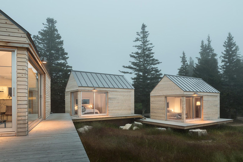 go logic designed three tiny cabins on an island of the coast 5 GO Logic Designed Three Tiny Cabins On An Island Of The Coast