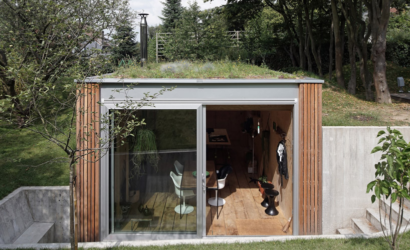 dream workspace in the garden by lescaut architects 11 Dream Workspace In The Garden By L'escaut Architects