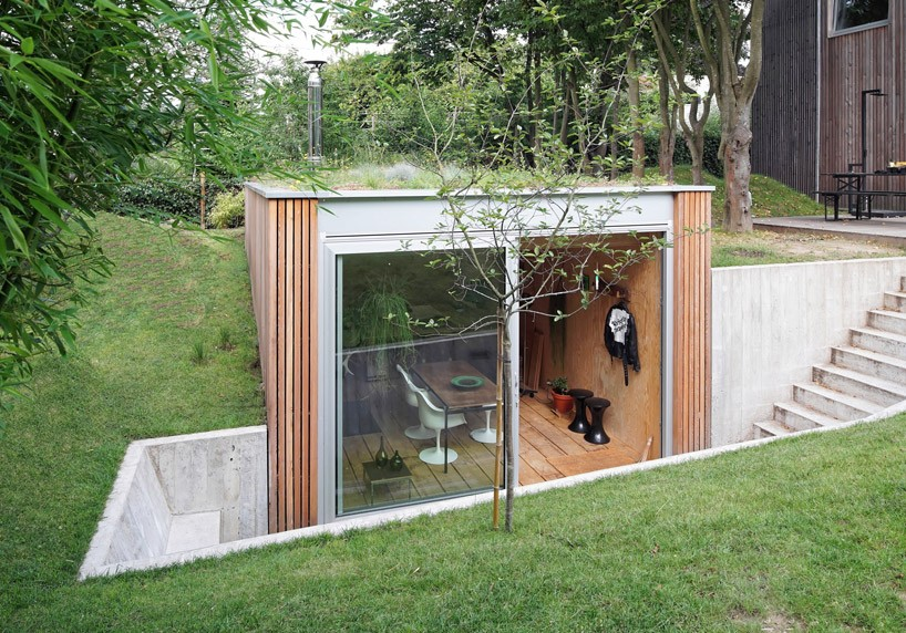 dream workspace in the garden by lescaut architects 4 Dream Workspace In The Garden By L'escaut Architects