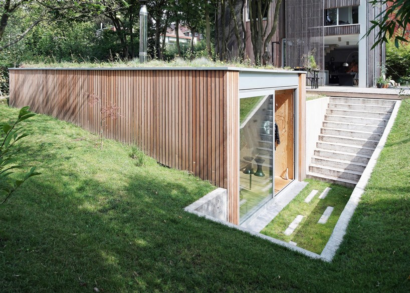 dream workspace in the garden by lescaut architects 5 Dream Workspace In The Garden By L'escaut Architects