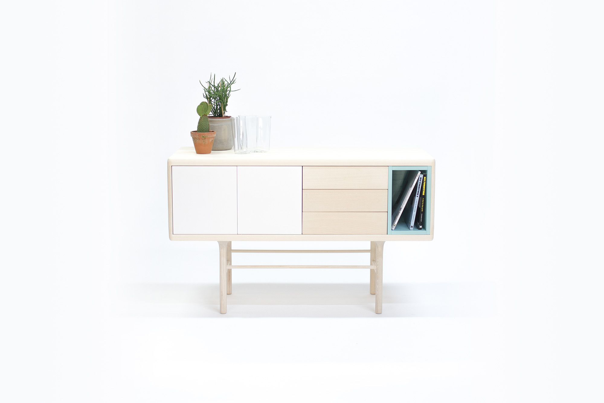 Minimal scandinavian furniture by designer carlos jim nez for Furniture blueprint maker