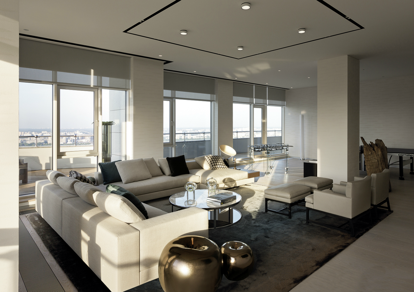 serene kiev penthouse 12 A Luxurious and Exquisite Kiev Penthouse