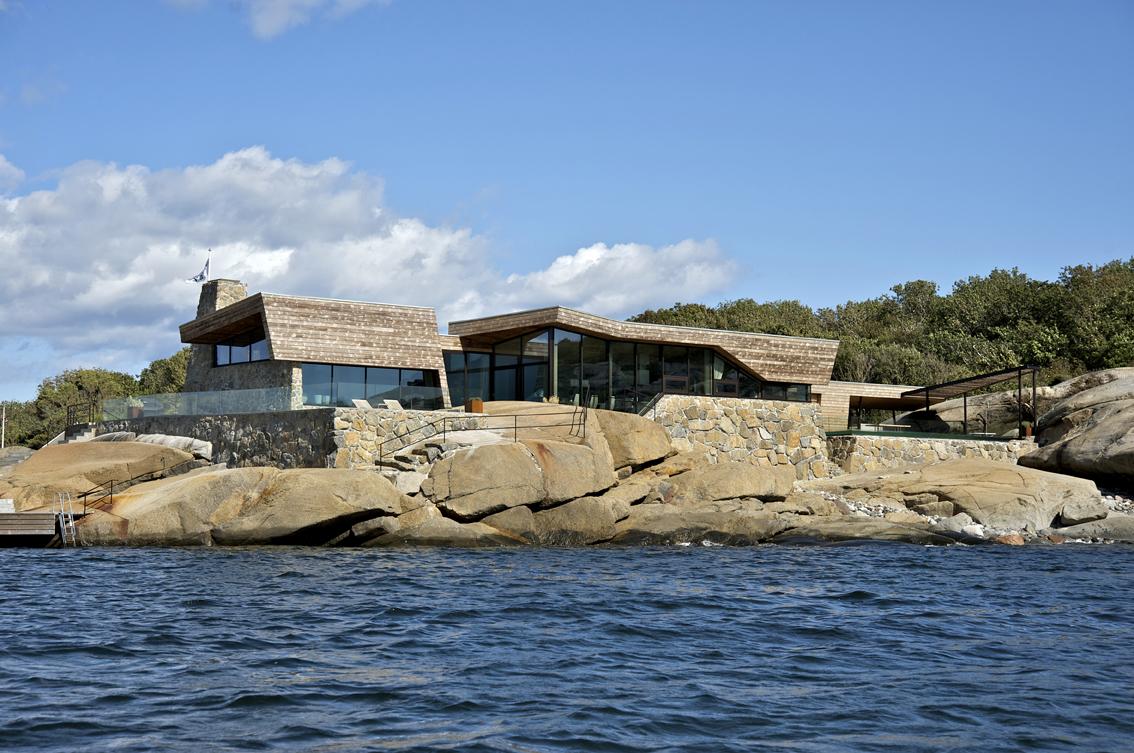 summer house by jva9 Summer House Vestfold 2 / JVA