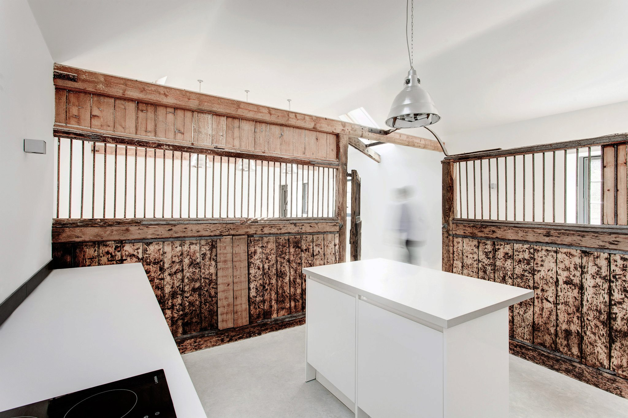the stables by ar design studio8 Old Stables Turned into Contemporary Home