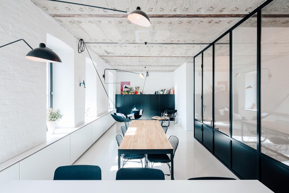 apartment on leningradsky22 Raw Structural Details   Focal Interior Part