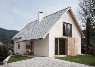 Beautiful Alpine House in Slovenia by Skupaj Arhitekti