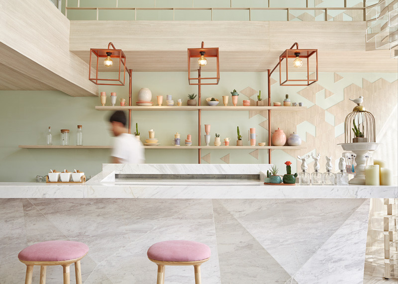 SHUGAA – A Dessert bar inspired by crystals