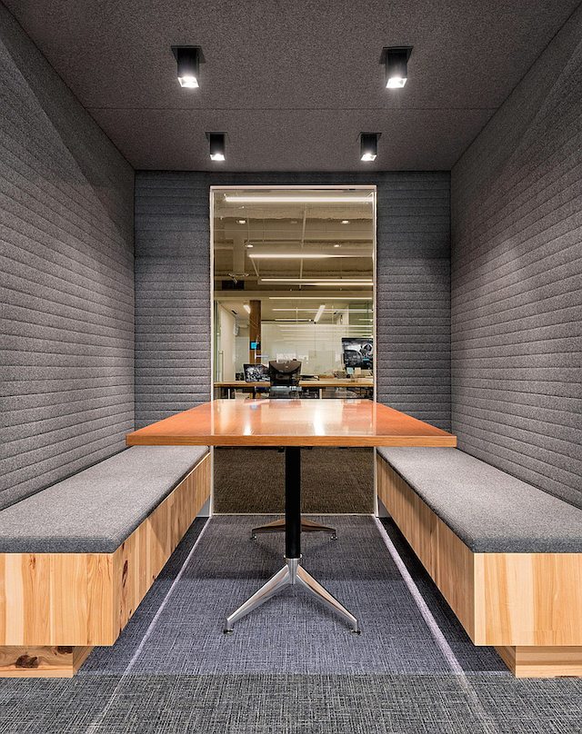 uber office 5 Uber Office Design by Studio O+A