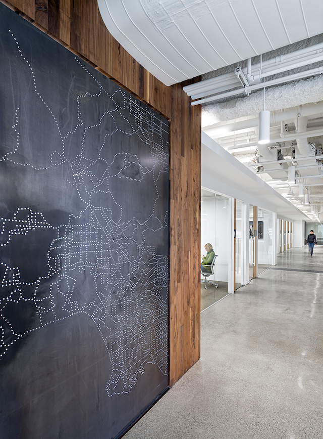 uber office 7 Uber Office Design by Studio O+A