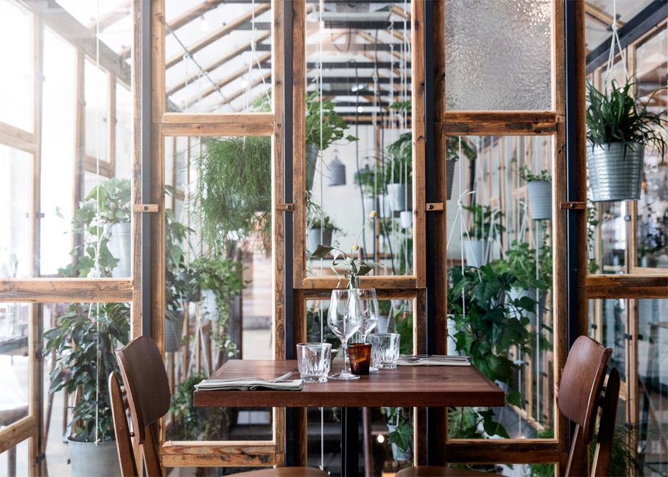 danish design studio creates an indoor garden for a restaurant 8 Danish Design Studio Creates an Indoor Garden For a Restaurant