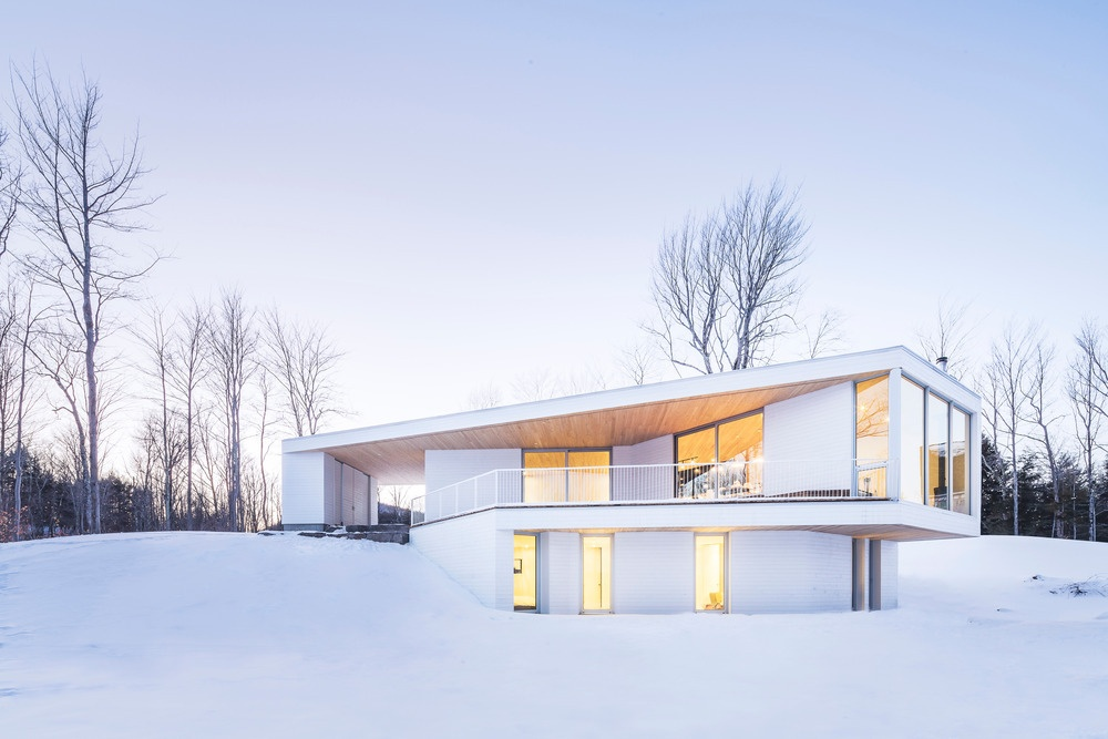 nook residence by mu architecture blends with winter landscape 15 Nook Residence by MU Architecture Blends with Winter Landscape