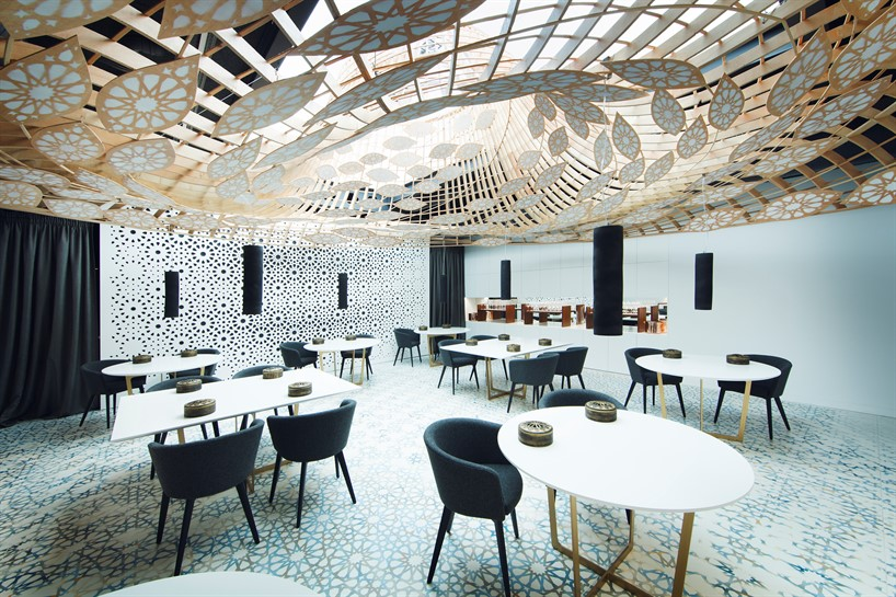 restaurant full of pattern by the gg architects 1 Restaurant full of pattern by the GG architects