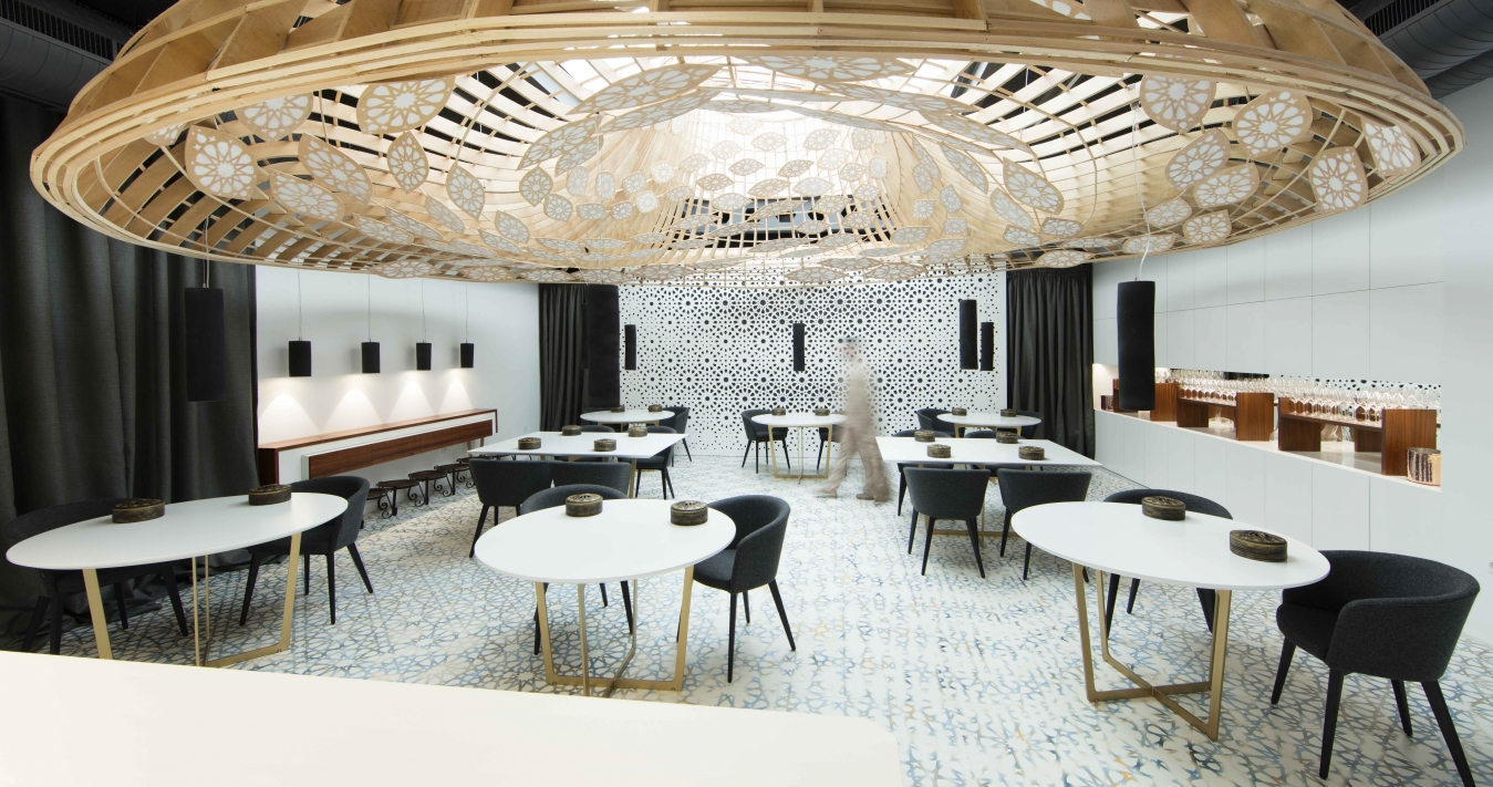 restaurant full of pattern by the gg architects 2 Restaurant full of pattern by the GG architects