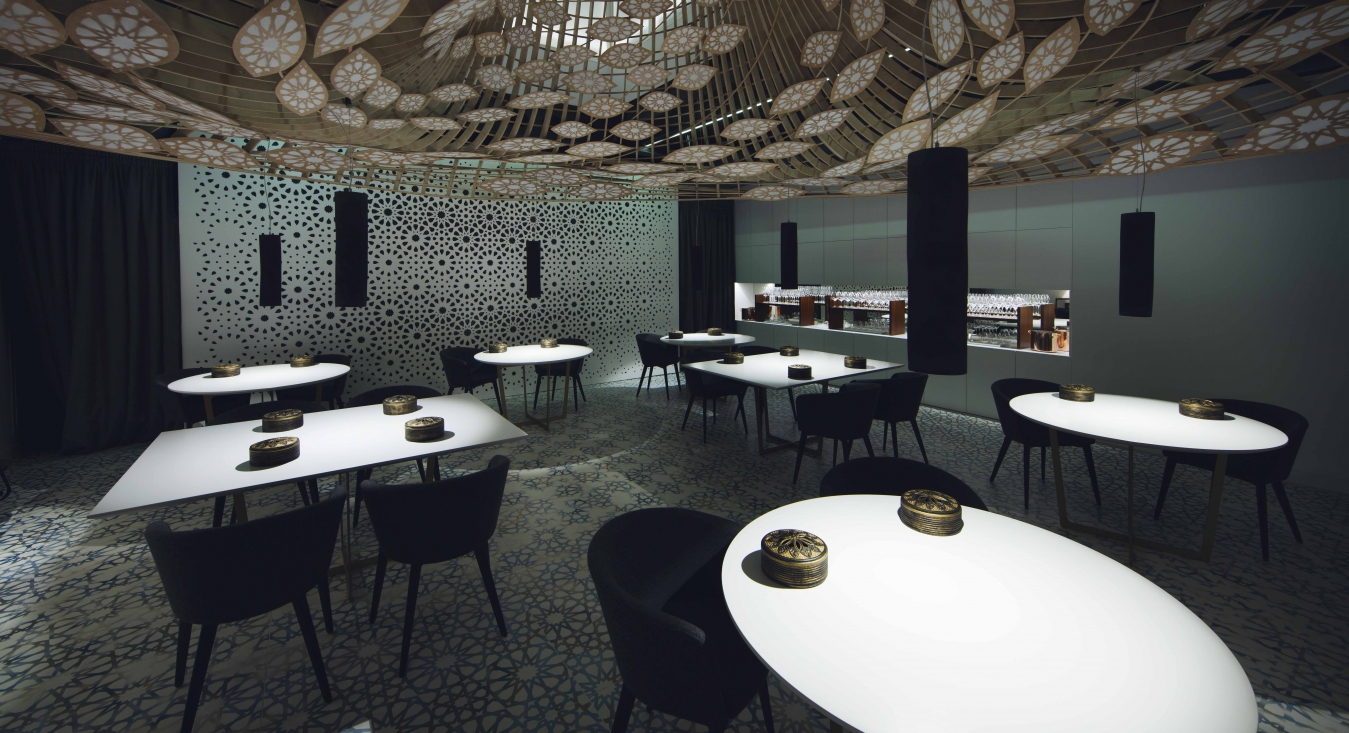 restaurant full of pattern by the gg architects 4 Restaurant full of pattern by the GG architects