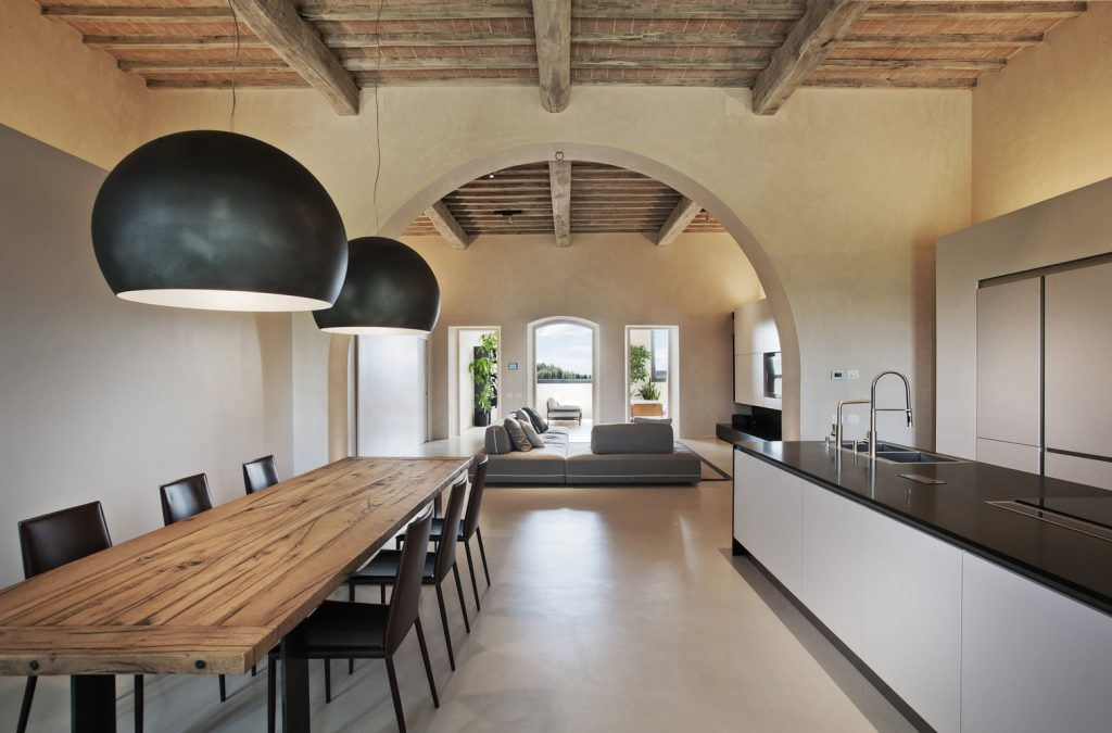 15th century italian villa renovation by cmt architects 1 1024x675 15th Century Italian Villa Renovation by CMT Architects