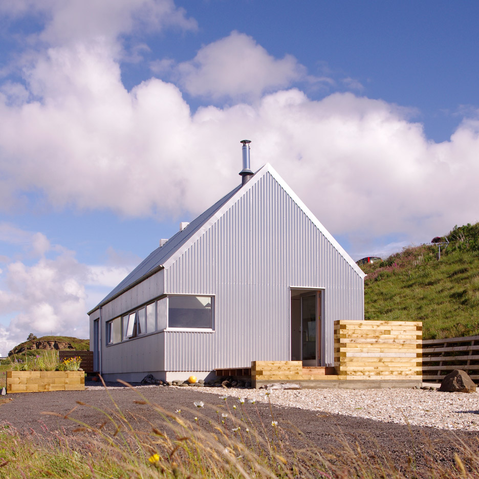 The Tinhouse is a Holiday Home on the Scottish Island